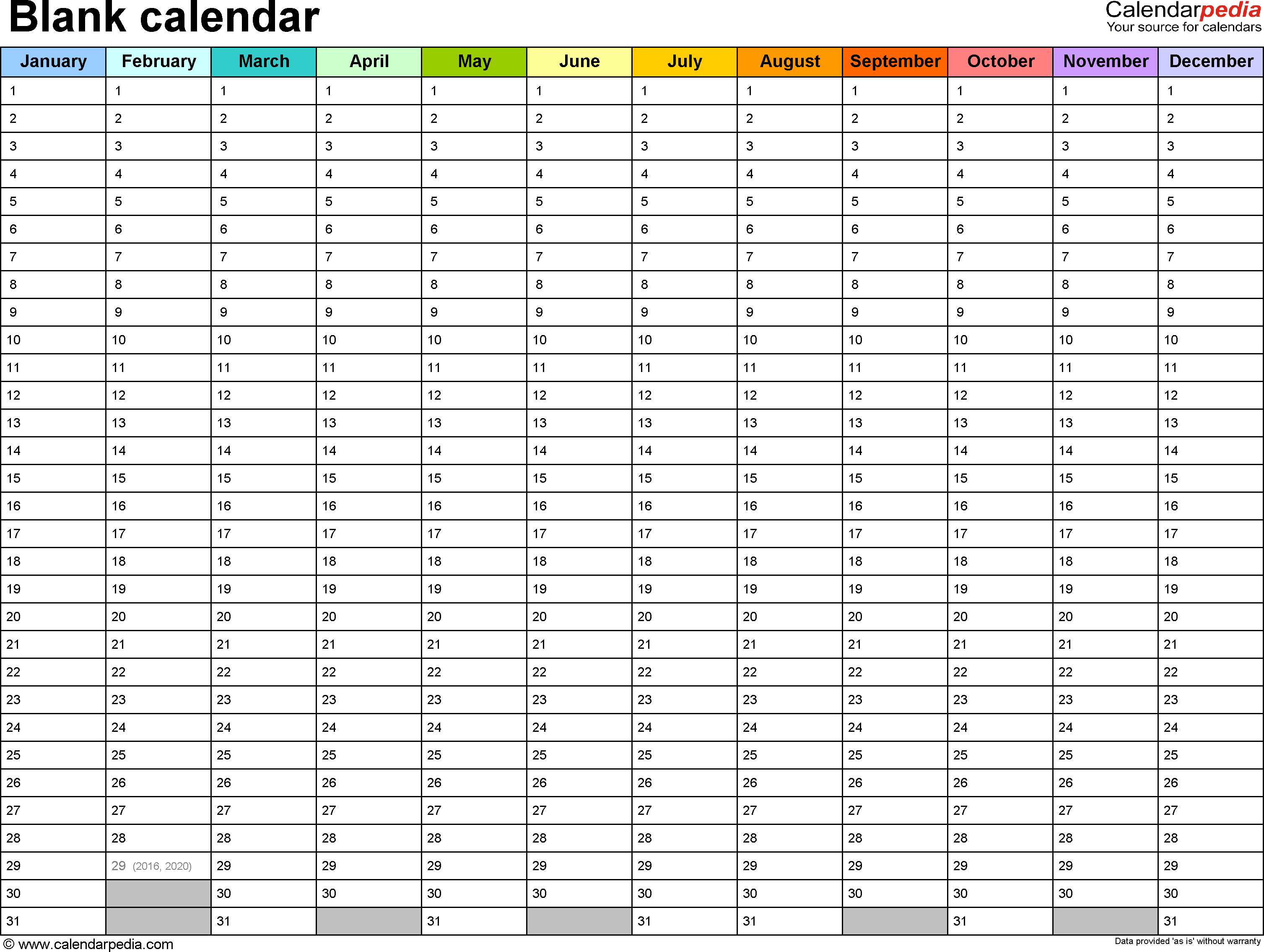 Other Printable Calendars Here Many Of These Would Work