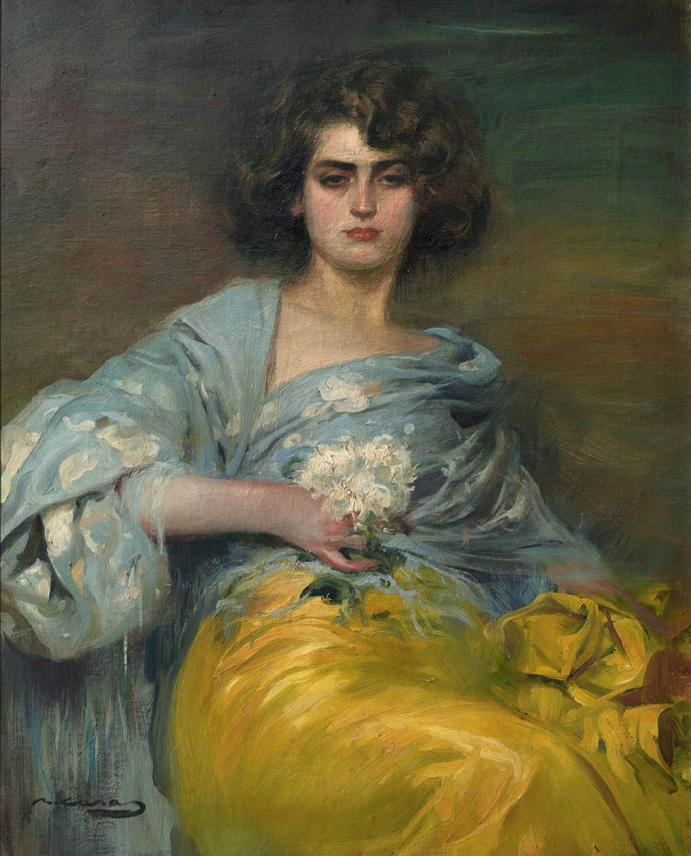 Ramón Casas (Catalan Spanish, 18661932), Julia Peraire
