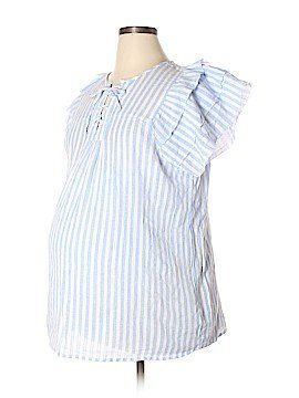 9e78db1fe82 Gap - Maternity Short Sleeve Blouse Size XL (Maternity). Find this Pin and  more ...