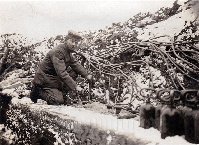 """"""" Vorbereitung zum Abblasen in Graben"""" / Stinkpioniere. WW1. -drakegoodman ✠"""