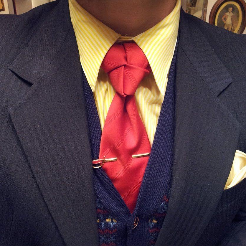 In Depth How To: Tying A Truelove Knot Neck Tie