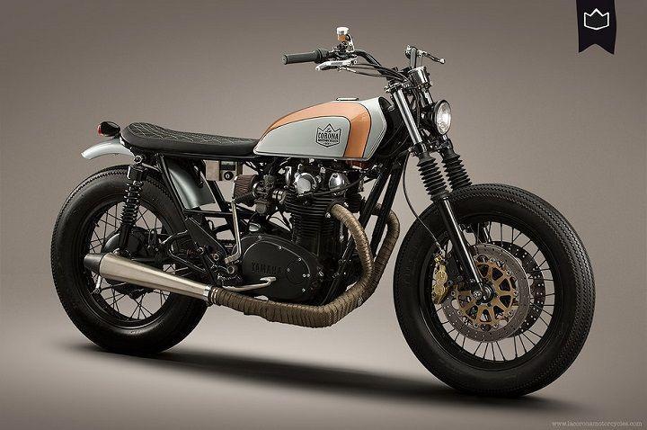 Yamaha XS650 Brat Style 001 By La Corona Motorcycles Bratstyle Motos