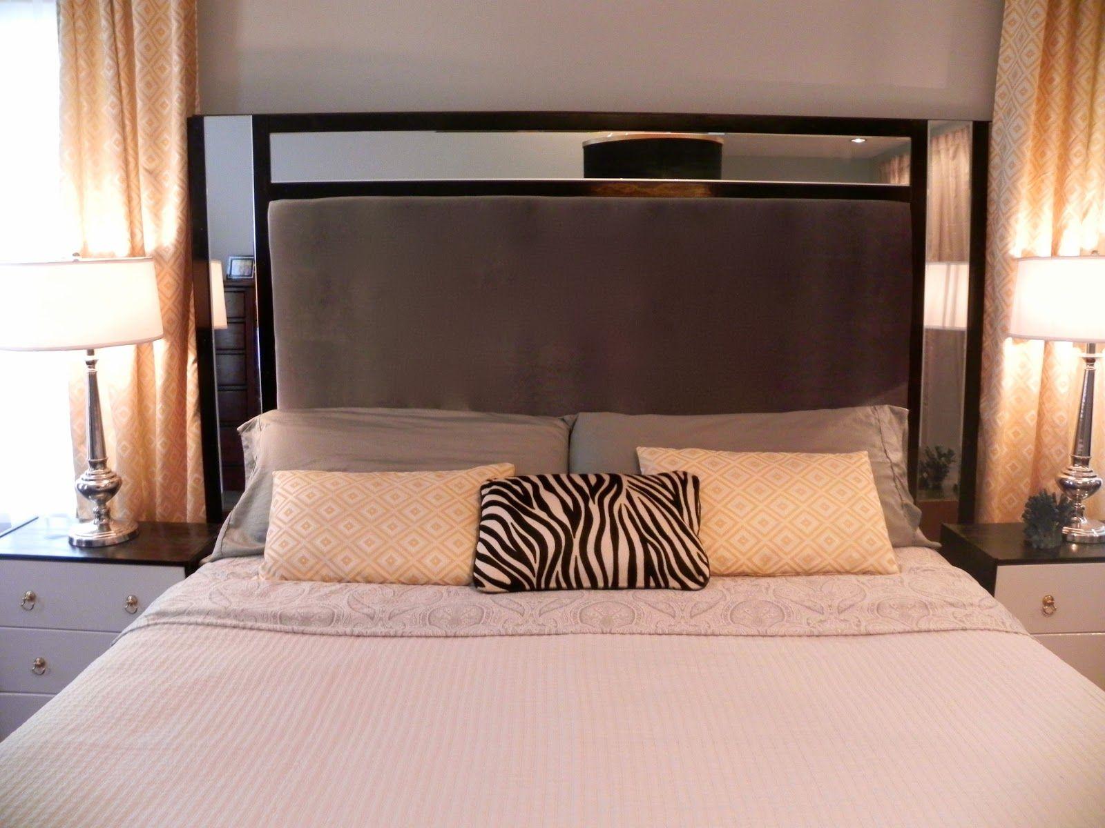 Sheer Serendipity Diy Headboard Upholstered Upholstered Headboard Home Decor