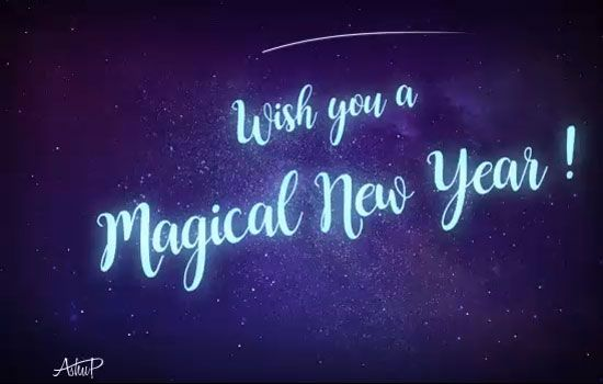 send magical new year wishes to family friends near dear ones free online magical new year wishes for you ecards on new year
