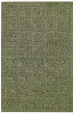 The First Impressions Rug in Celery from #CapelRugs is a gorgeous transitional rug that can add color to any area