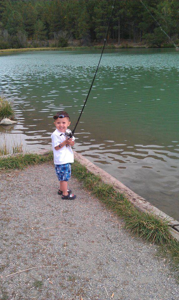 Boom fishing! (Questa, NM)