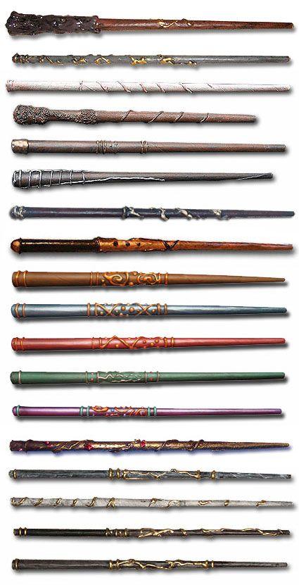 Harry potter wand on pinterest harry potter parties harry potter potions and harry potter - Coole wanddesigns ...