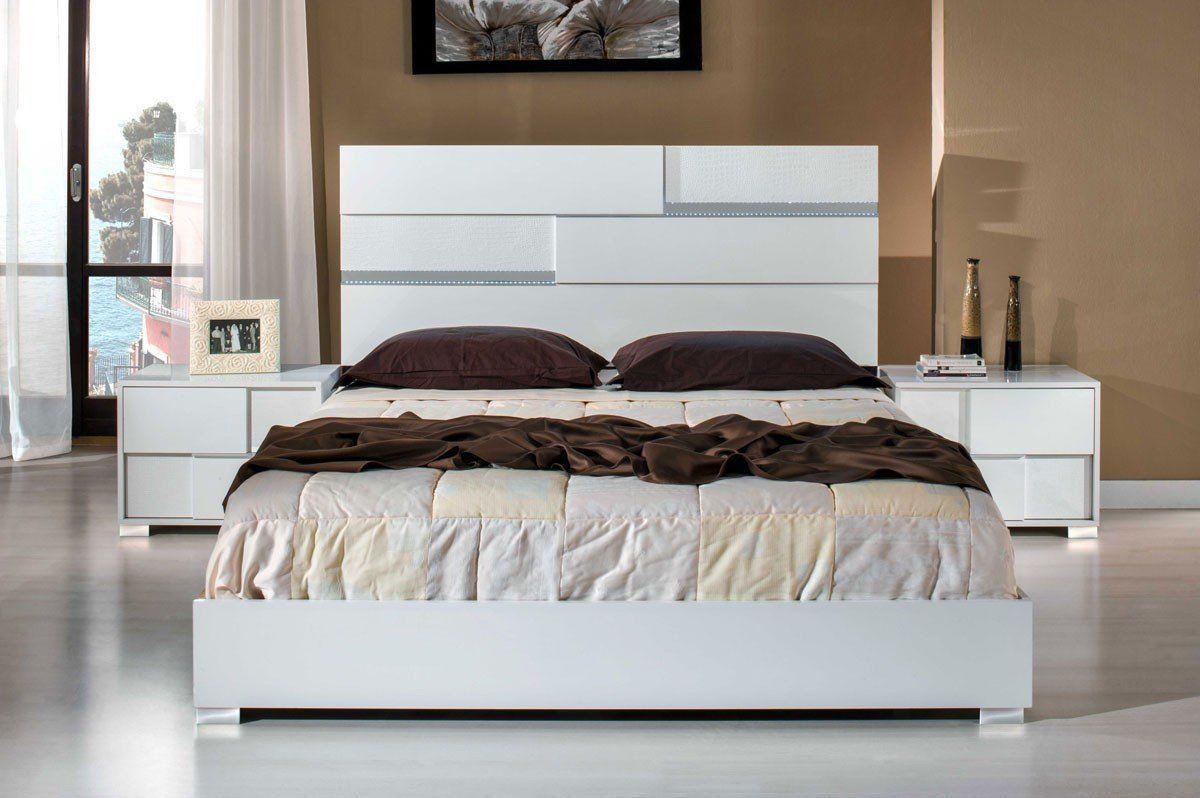 VIG Furniture Modrest Ancona Italian Modern White Bedroom