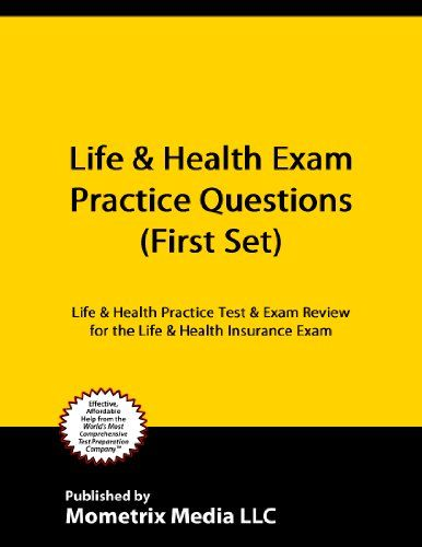 Life Health Exam Practice Questions First Set Life Health