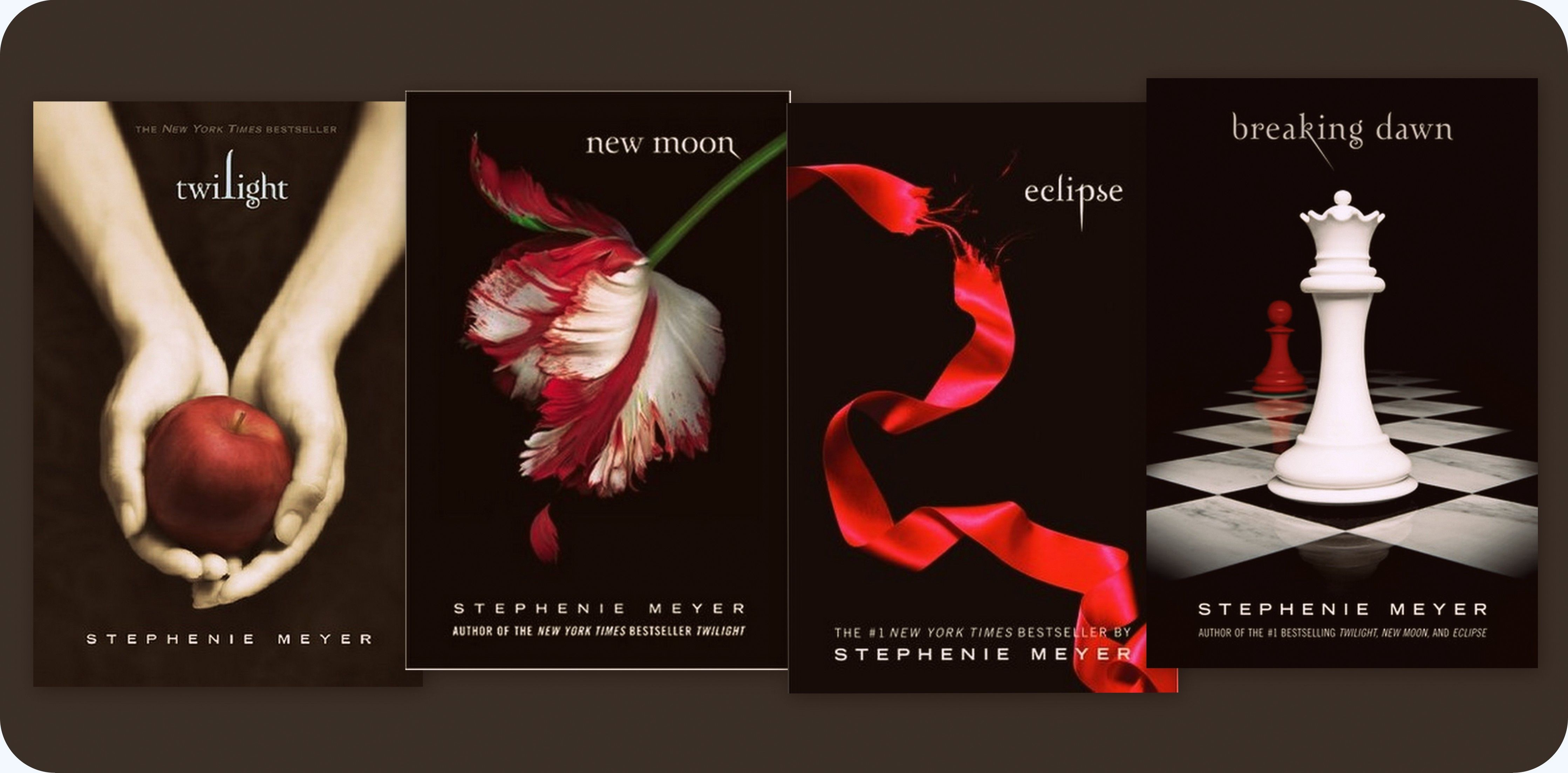 Twilight series by stephenie meyer say what you want about the twilight series by stephenie meyer say what you want about the story but the covers are gorgeous fandeluxe Choice Image