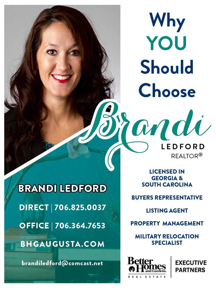 Brandi Ledford  Agent Branding Magazine Ad Better Homes U0026 Gardens Real  Estate | Executive Partners #realestatebranding