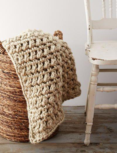 Easy Going Crochet Blanket | Manta y Ganchillo
