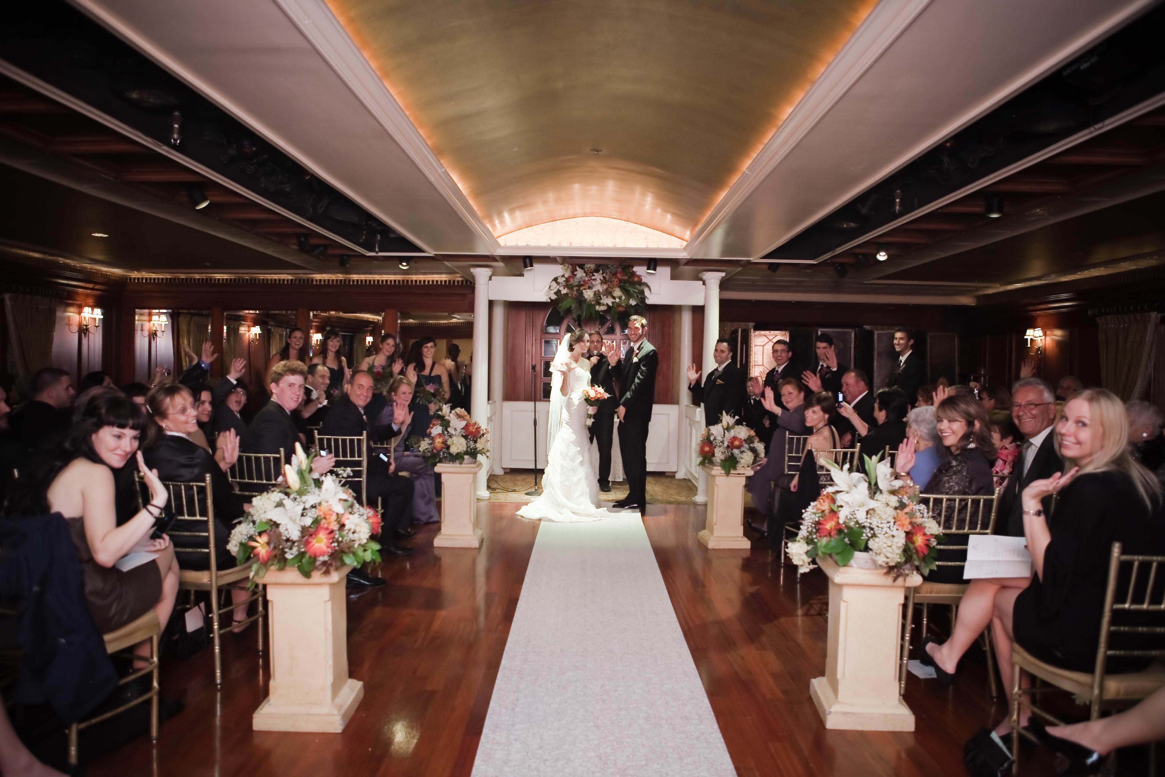 Indoor Ceremony In The Hill Room