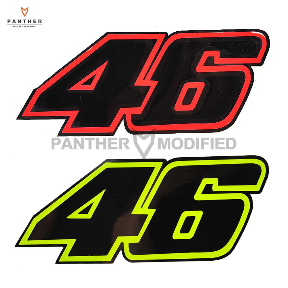Rossi Memento Emblem Stickers Motorcycle Helmet Moto 46 Sticker Case on