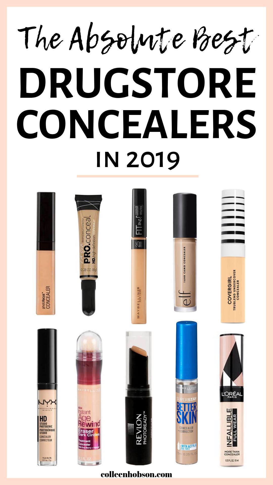 The 10 Best Drugstore Concealers On The Market Today In 2020 Best Drugstore Concealer Drugstore Concealer Best Drugstore Makeup