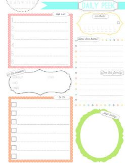 the ivy twines free daily planner printable an organized life