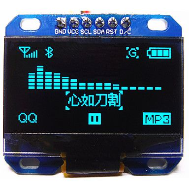 1.3inch 128*64 blue OLED module with IIC/I2C interface http://mxpi.co.nf/?item=1086073