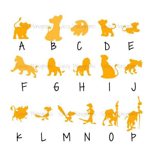 Magic Band Vinyl Decal Lion King Simba Mufasa Rafiki Pumbaa Timon - Magic band vinyl decals
