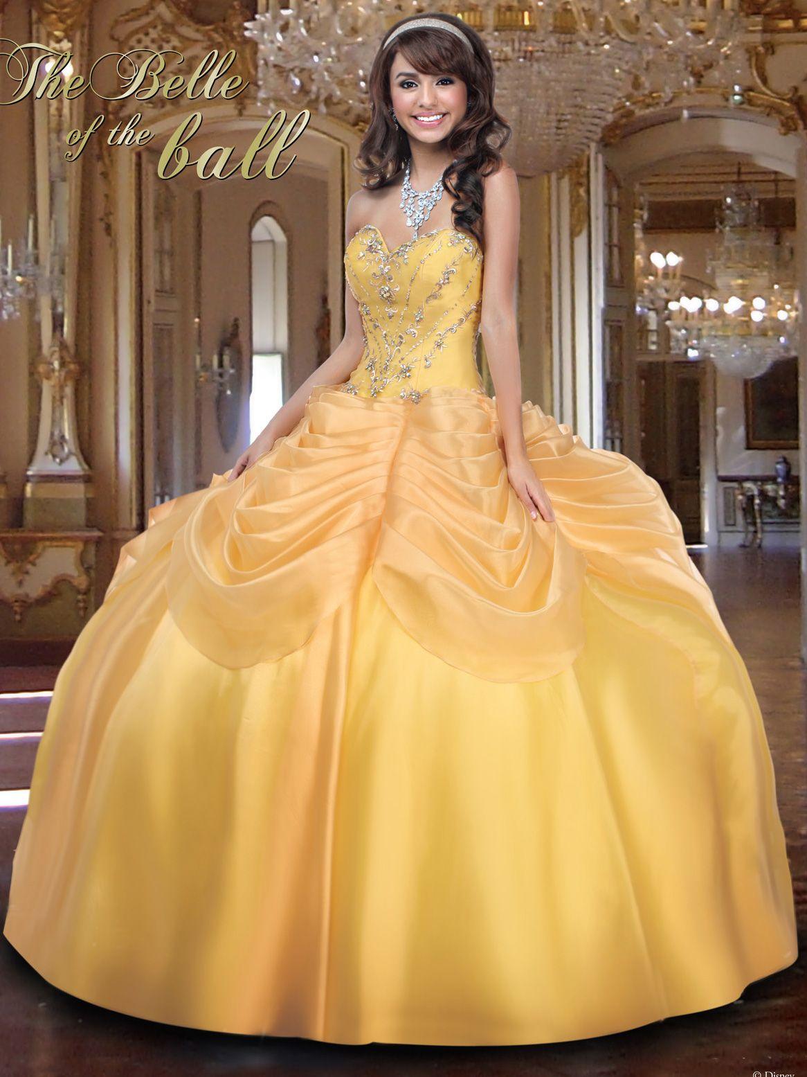 c4331933412 Disney Princess Quinceanera Dresses
