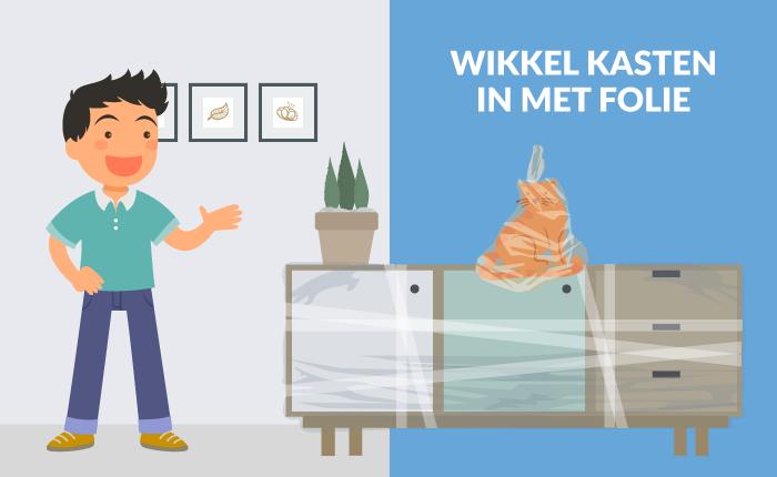 Inpakken Voor Je Verhuizing Tip 7 Wikkel Kasten In Met