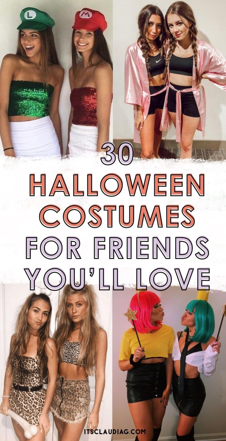 30 Cute Halloween Costumes for Best Friends - Its