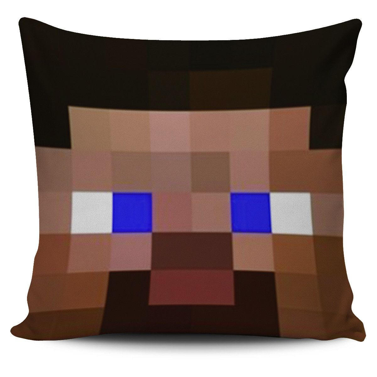 Minecraft Steve Pillow Cover (With