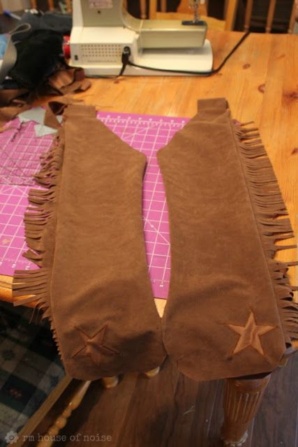 9784555b4f7 House of Noise... I mean boys.  DIY  Kids Costume - Cowboy Chaps and ...