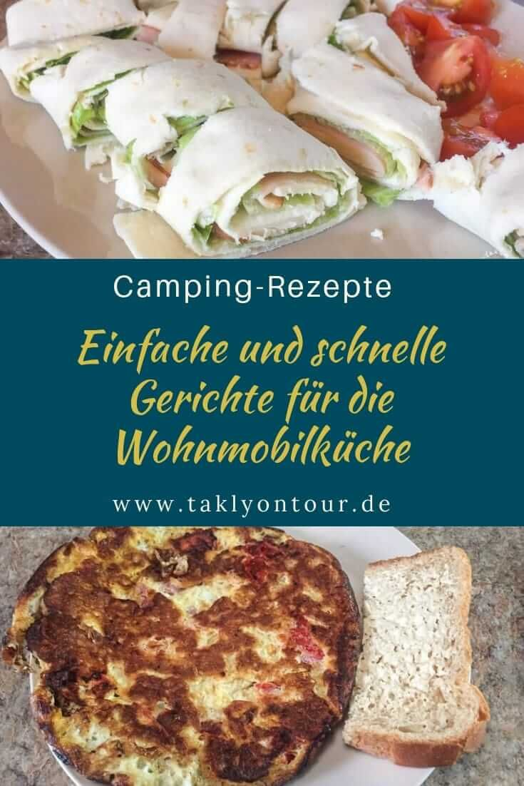 Photo of Camping recipes: simple & quick dishes