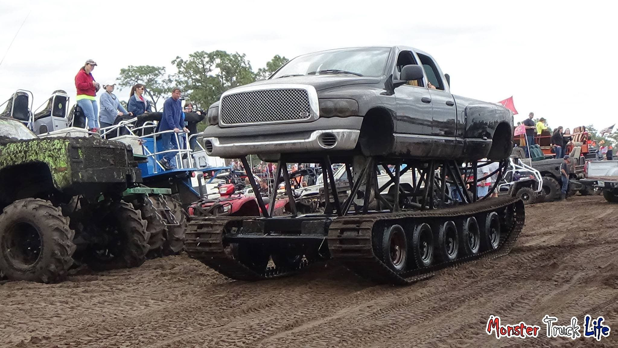 Tracted Dodge Quad Cab Triple Canopy Ranch 2 21 2015 - Monster .  sc 1 st  Pinterest & Tracted Dodge Quad Cab Triple Canopy Ranch 2 21 2015 - Monster ...