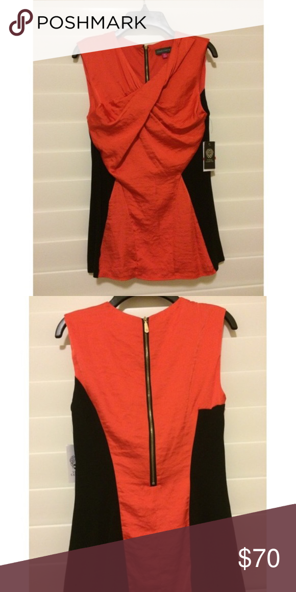 Vince camuto top Vince camuto top in great condition of you have any questions please feel free to ask and I am open to offers Vince Camuto Tops Blouses