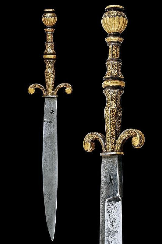 Dagger France 16th Century Does Anyone Know Whose Mark Is On The