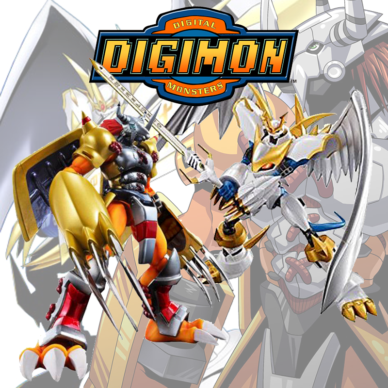 Check out the new Digimon action figures featuring ...