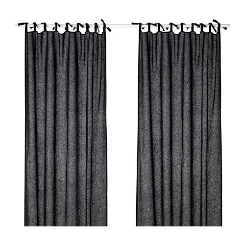 Us Furniture And Home Furnishings Blue Gray Bedroom Curtains Dark Blue Grey
