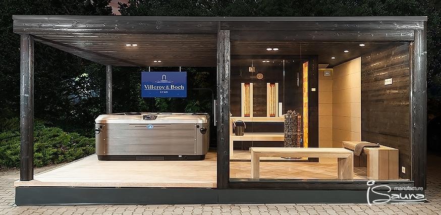 Gartenhaus Mit Sauna Und Whirlpool