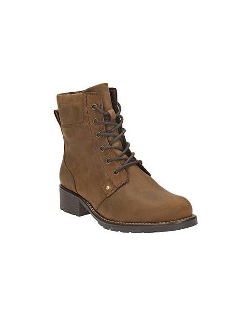 81e7f2ee Bilderesultat for clarks orinoco spice lace up ankle boot | Sko ...