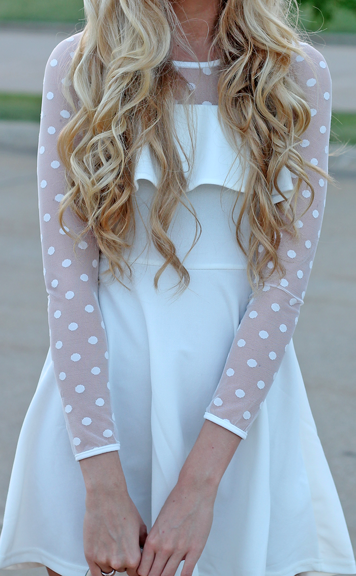 Polka Dots Heaven (life with lyss) | Dress link, Heavens and Website