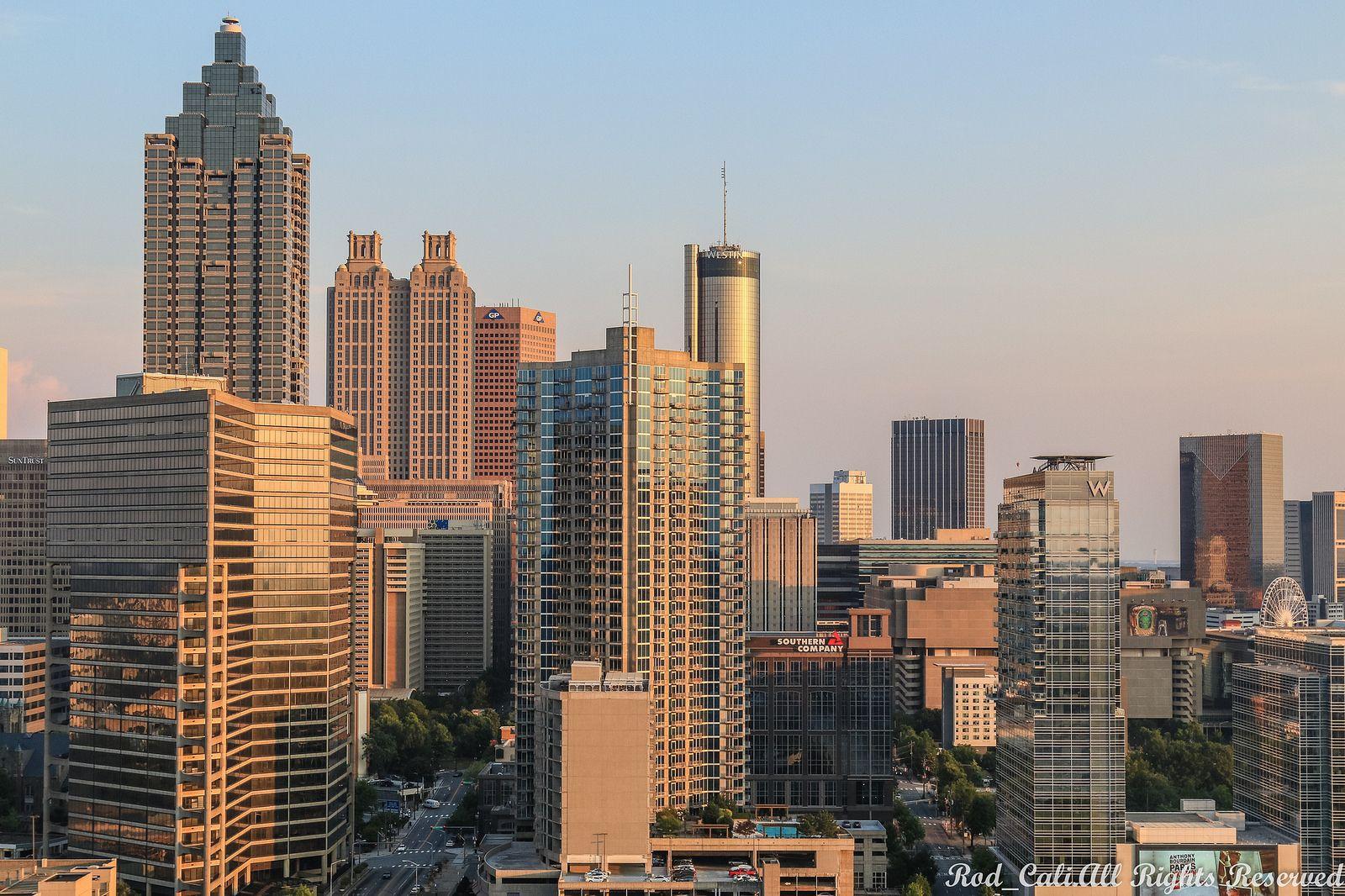 Atlanta skyline Atlanta skyline, Skyline