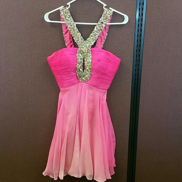 Sherri Hill prom dress--CAN SHIP TODAY