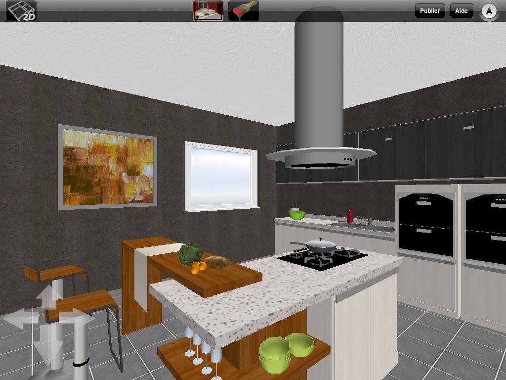 Discover Home Design 3d App For Ipad And Iphone Https Itunes Apple Com App Id463768717 Mt 8 Kitchen Design House Design Design