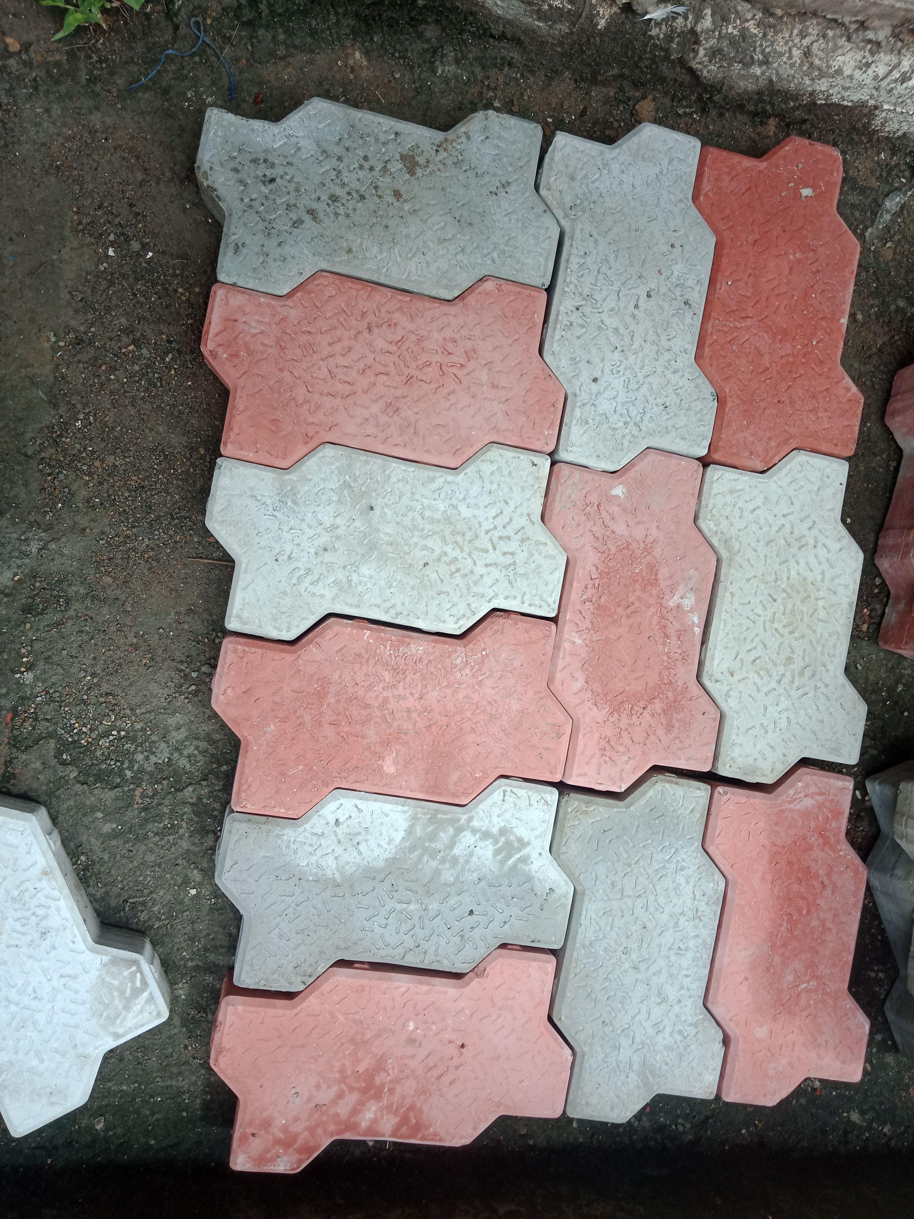 pattern 1 : pattern for zig zag paver block  Paver blocks, Paving design, Paver