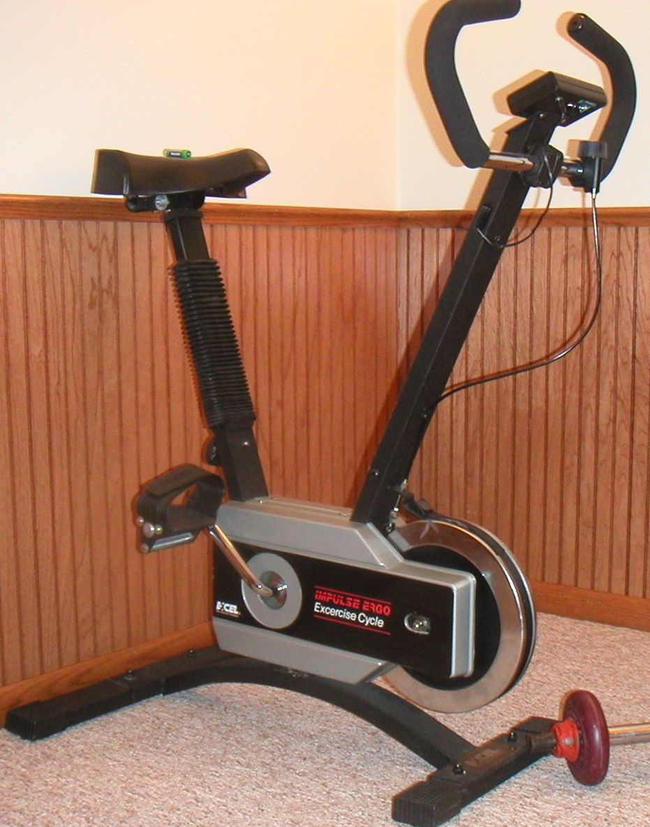 exercise bike excel impulse in curacao s garage sale cheyenne wy