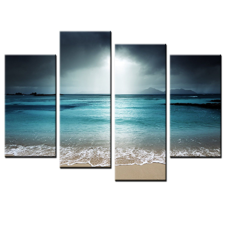 Framed hd canvas print art for home decor landscape wall art canvas