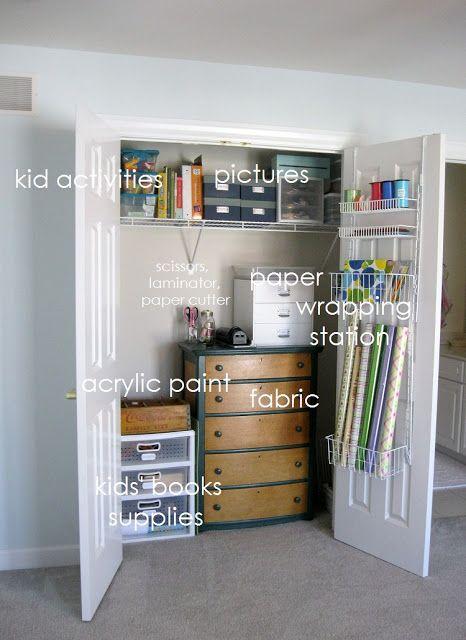 Spring Into Organization  - My Craft Room & Spring Into Organization