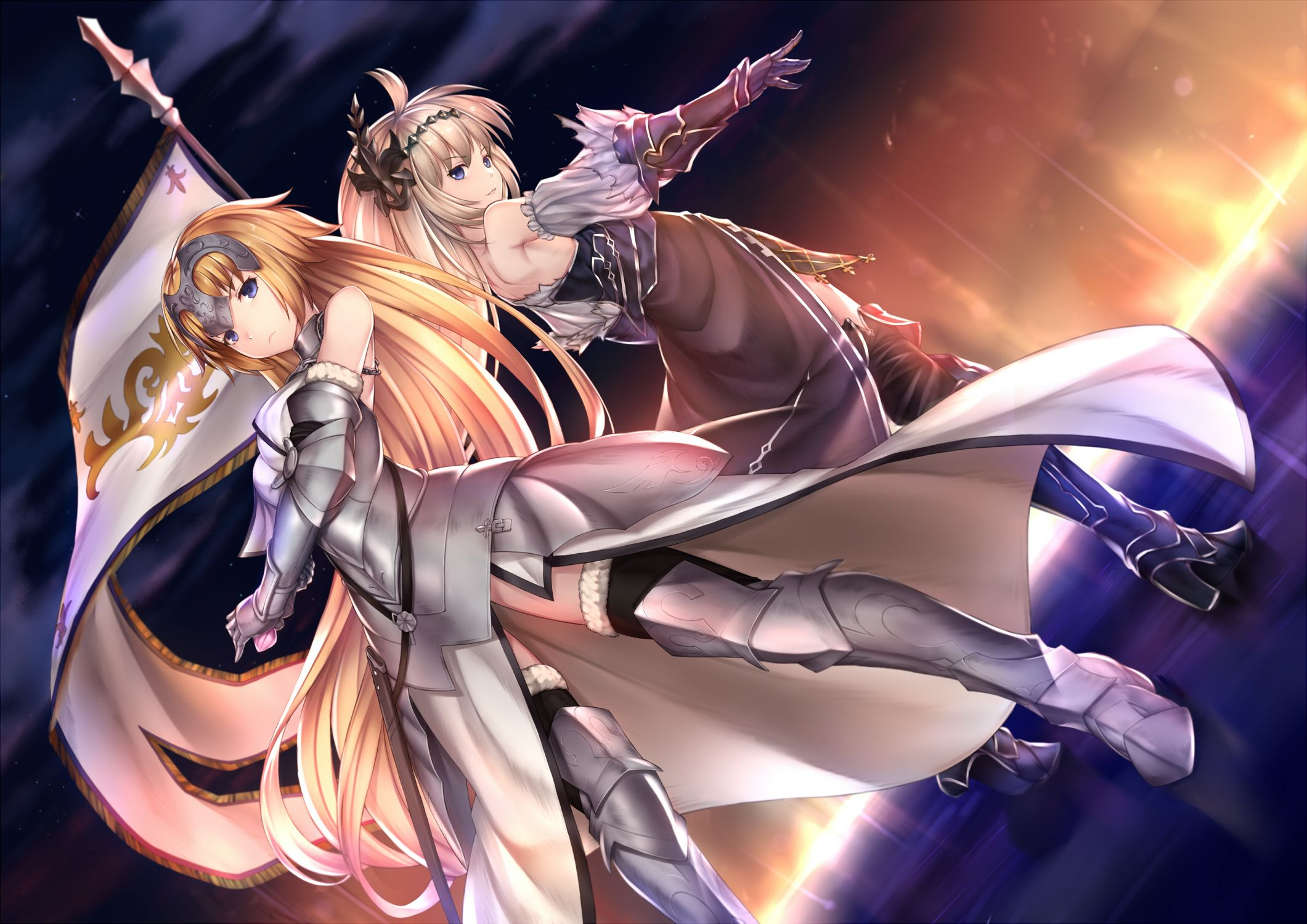 Fate Grandorder Burning Night Pak Ceのイラスト アニメ