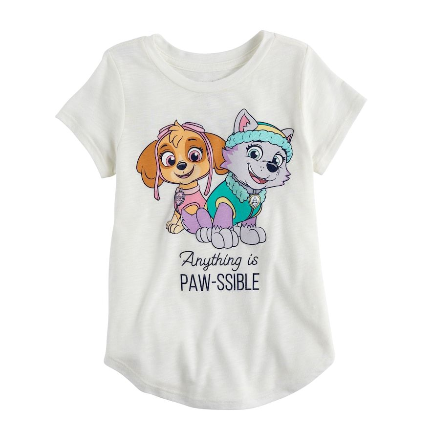 528f90fc086 Girls 4-10 Jumping Beans® Paw Patrol Sky   Everest Graphic Tee ...