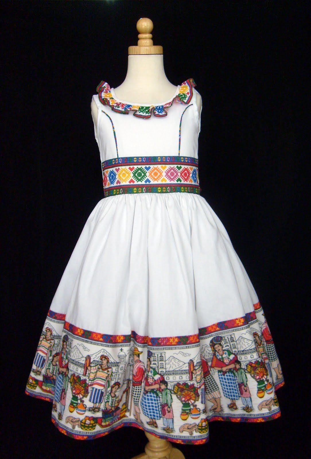 Vestido Mexicano Dibujo Fashion Inspiración Chang
