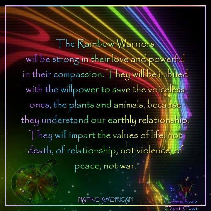 Warriors Of The Rainbow Tribe: Rainbow Warrior