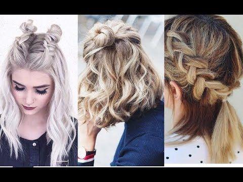 Peinados Rapidos Y Faciles Para Cabello Corto Easy Hairtyles