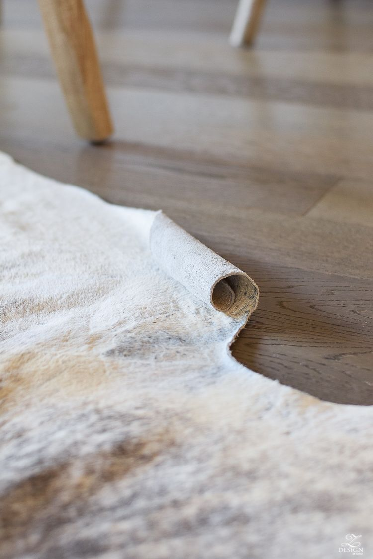 How To Get The Curl Out Of A Cowhide Rug Zdesign At Home Cow Hide Rug Cowhide Rugs
