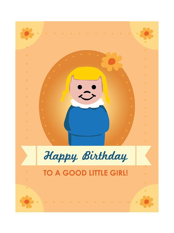 Fisher price little people girl birthday card by cheryloz on etsy fisher price little people girl birthday card by cheryloz on etsy 400 bookmarktalkfo Gallery